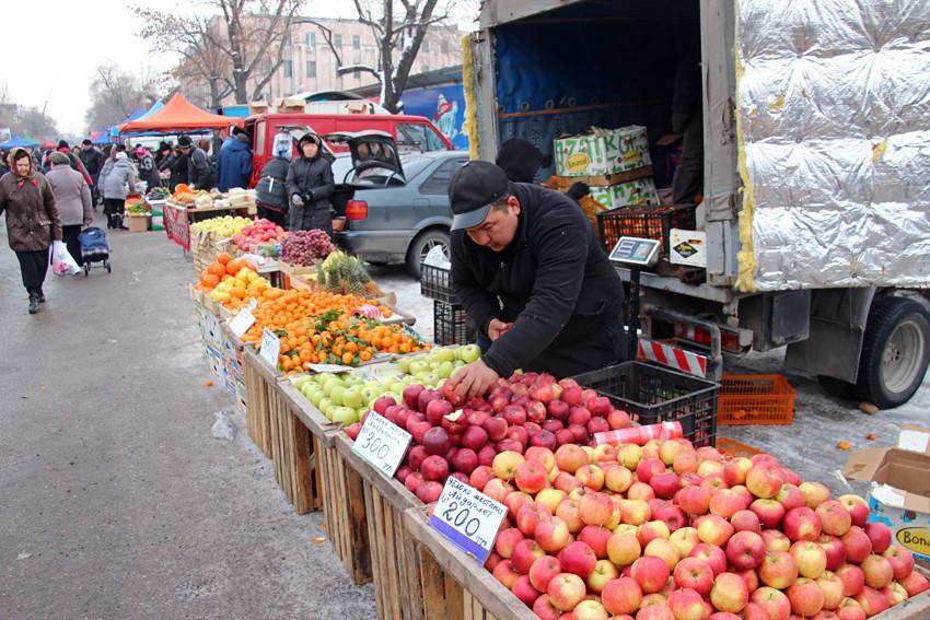 Spécialité d'Almaty! On y trouve toutes les variétés possibles
