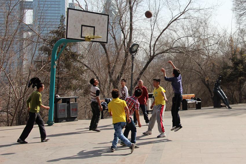 Le basket est très populaire en Chine