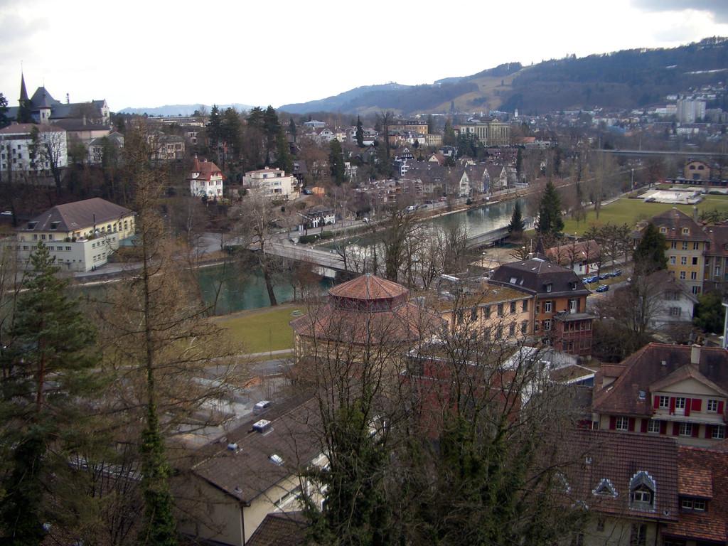 Blick von der Bundeshaus-Terrasse.