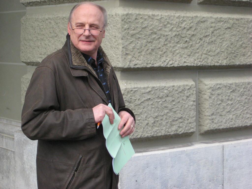 Horst Hochrein hat alles im Griff.