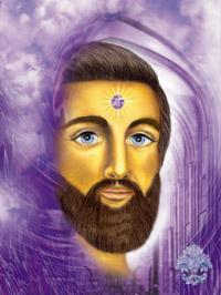 Graf Saint Germain Meister aufgestiegener violette Flamme der Transformation