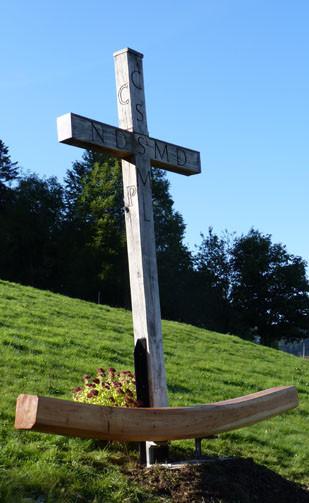 Kreuz als Anker auf dem Lebensweg
