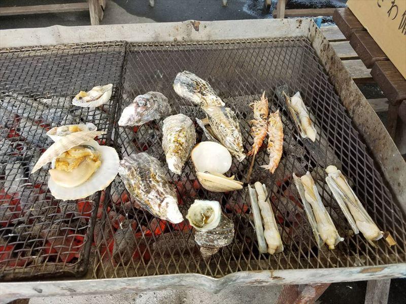海鮮網焼きバーベキュー