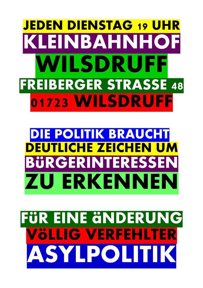 Bürgerinitiative Wilsdruff Logo Bürgerinteressen Asylpolitik