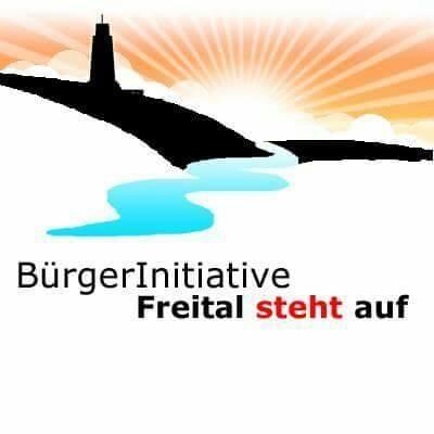 Bürgerinitiative Freital steht auf Logo