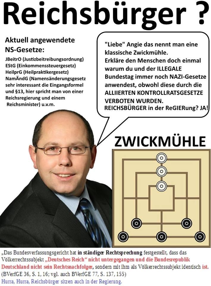 Reichsbürger Gesetze