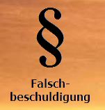 Falschbeschuldigung Logo