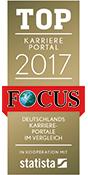 Karriereportal Jobbörse Focs statista 2017 Logo