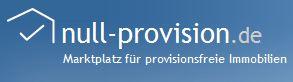 Null Provision Marktplatz provisionsfreie Immobilien Logo