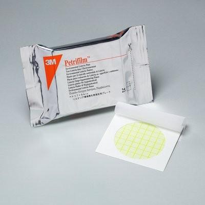 Placas 3M™ Petrifilm™ para recuento  Listeria en Ambientes
