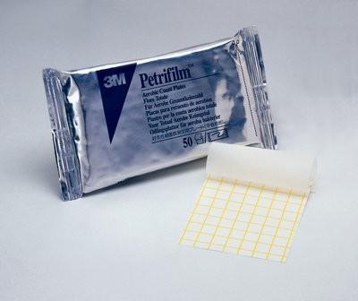 Placas 3M™ Petrifilm™ para recuento de Aerobios