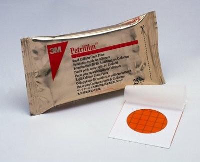 Placas 3M™ Petrifilm™ para recuento de Coliformes Rápida (Serie 2000)