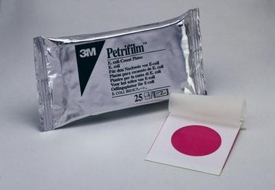Placas 3M™ Petrifilm™ para recuento de E. Coli /Coliformes