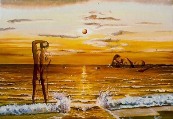 Crépuscule et Aurore- 61 cm x 46 cm