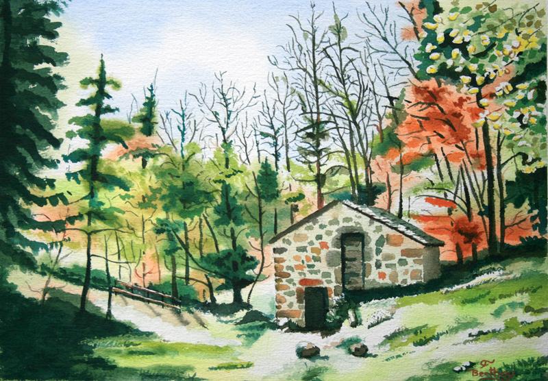 Moulin des Gardes
