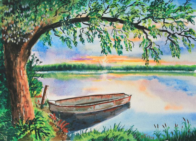 La barque