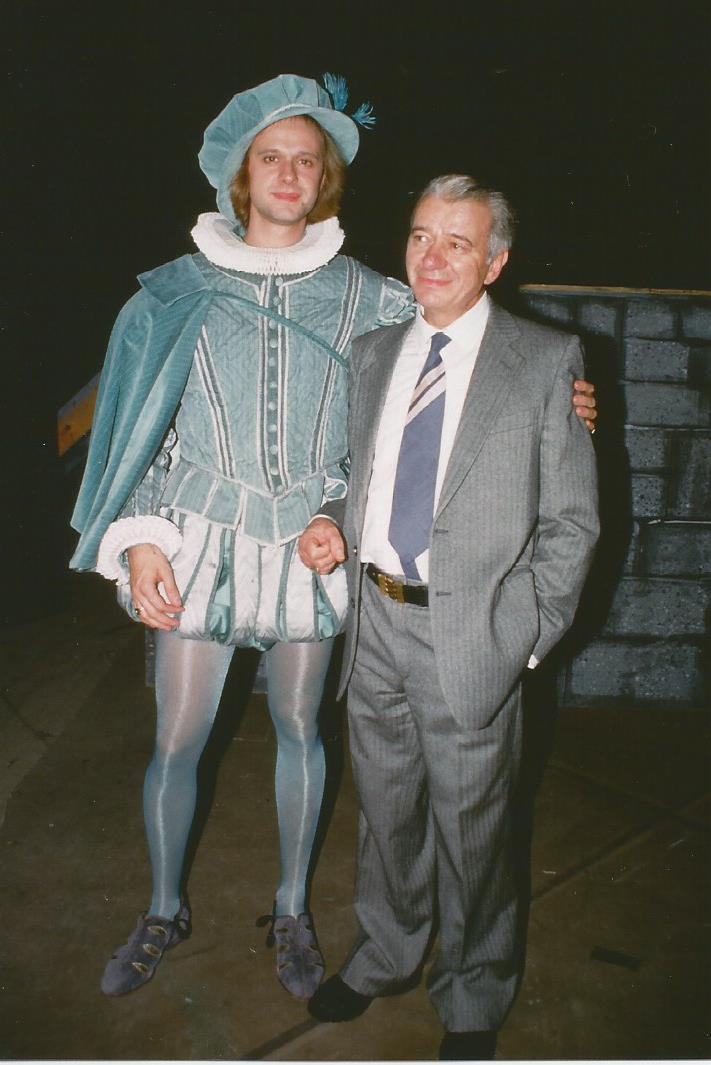 1987, io (Lord Arturo) e il mio papà