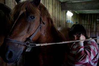 Соня с лошадкой
