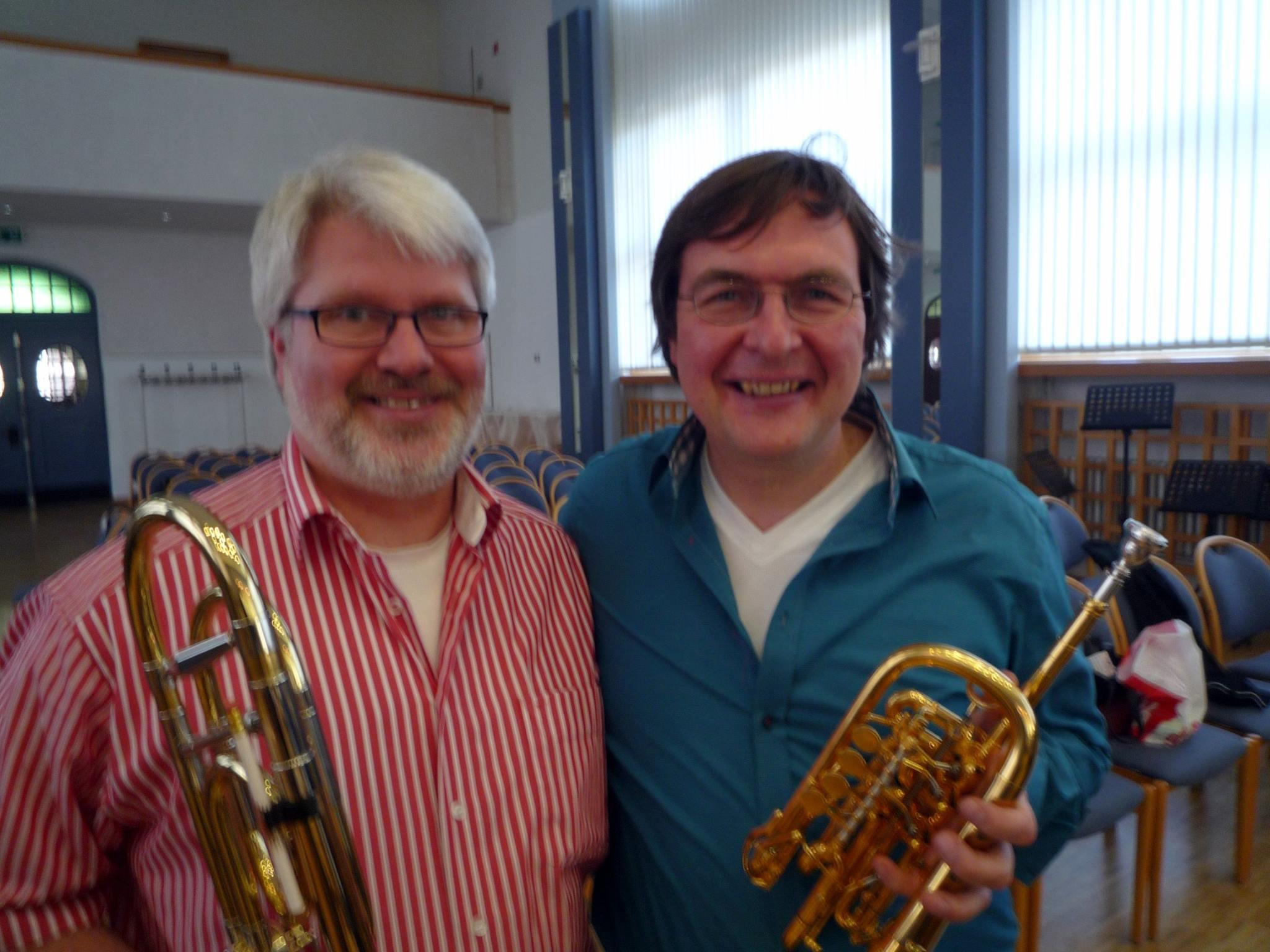 Thomas Lindt mit Prof. Matthias Höfs