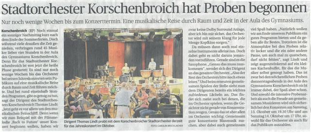 Rheinische Post 7.9.2018