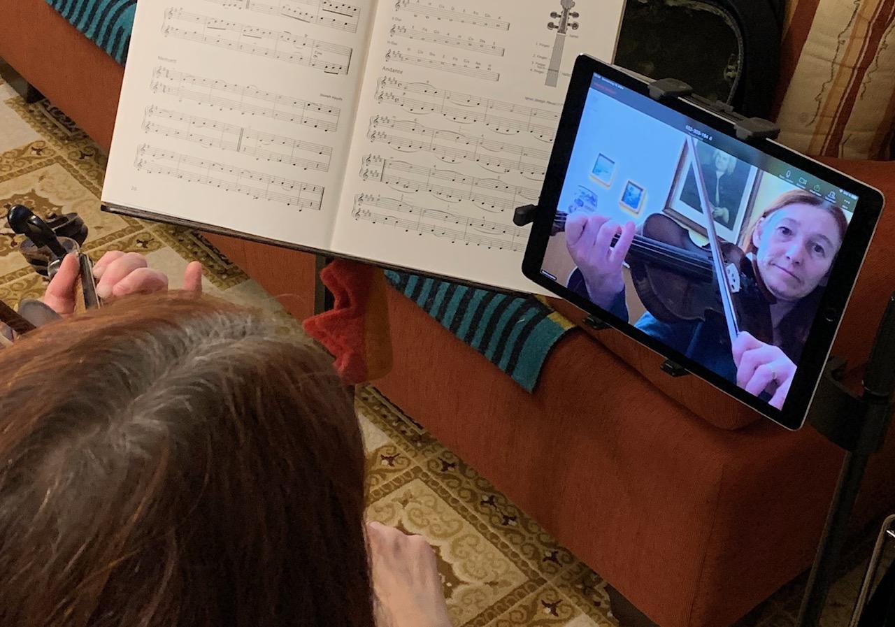 So wird der Online-Musikschulunterricht entwickelt