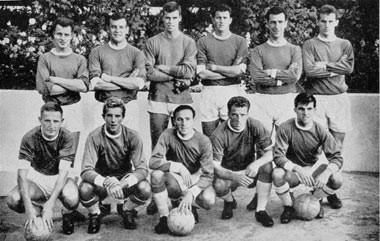 Mannschaftsfoto von Birmingham City aus dem Jahr 1961
