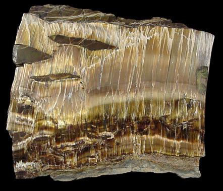 Chrysotile (Amiante), Thetford Mines, Québec, Canada