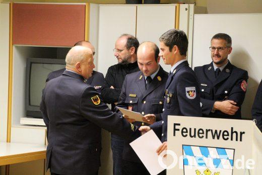 Teilnehmer am 109. Atemschutzlehrgang
