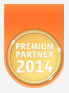 Logo ImmoScout Premium Partner 2014