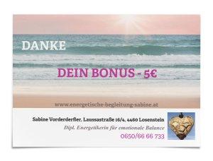 Bonus - 5€