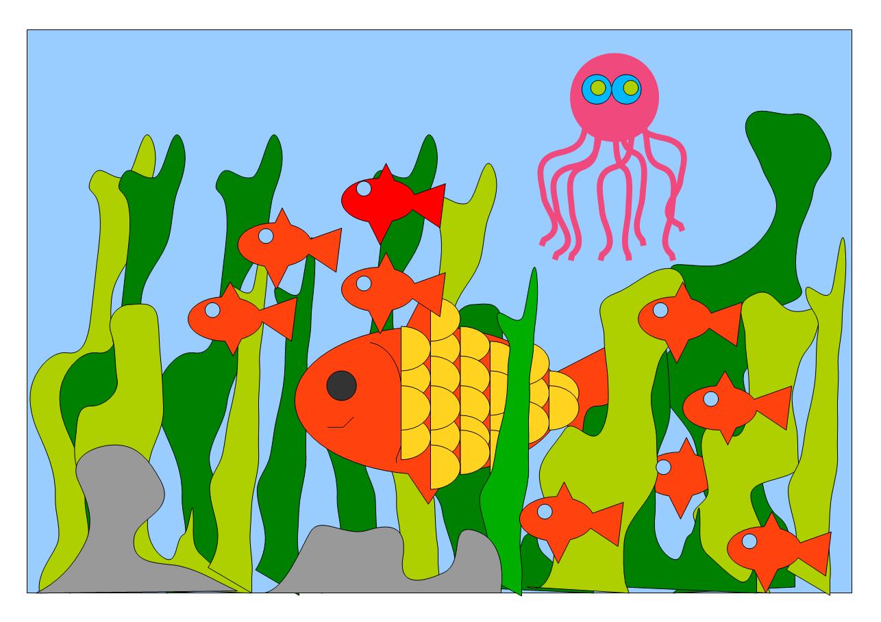 Meereswelt von Rona