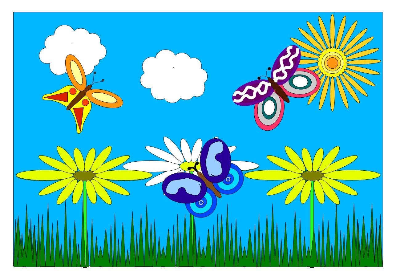 Auf der Schmetterlingswiese von Martha