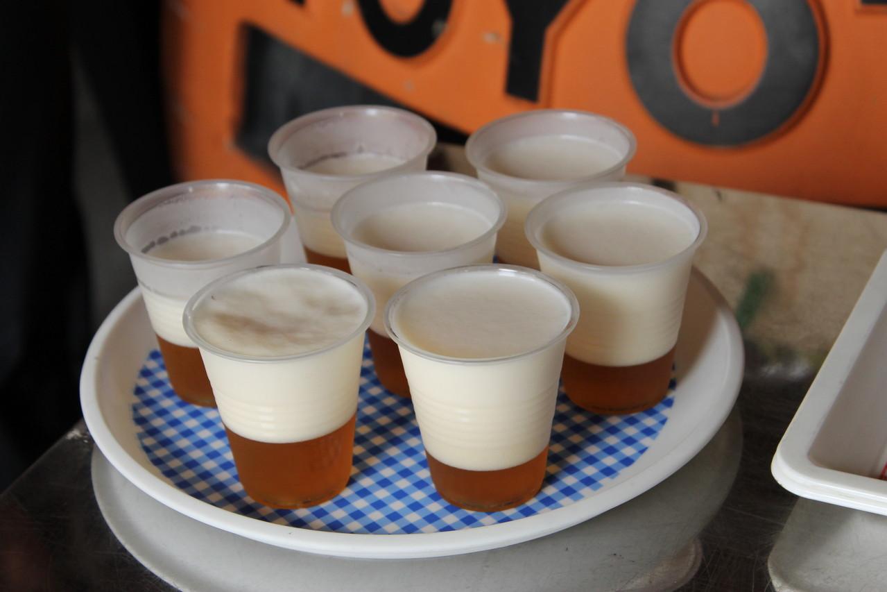 淡い色のヘルスはピルスナー麦芽を主原料に仕込んだビールで、濃醇で香りと苦みが魅力です。