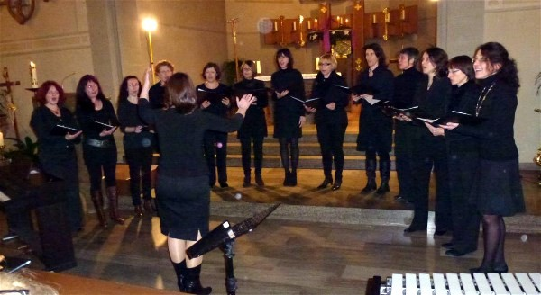 Adventskonzert 2012 - Frauenvocalensemble