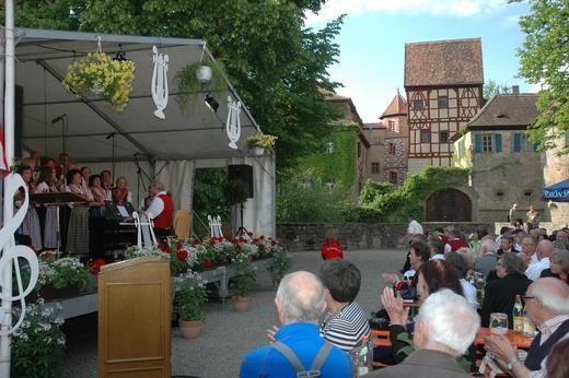 Europatag der Musik - am Wasserschloss Unsleben - 080613