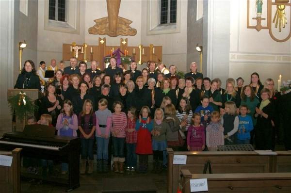 Adventskonzert 2012 - Alle Chöre