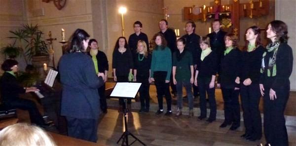 Adventskonzert 2012 - Ensemble Swingit