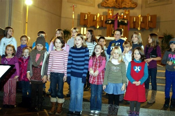Adventskonzert 2012 - Kinderchor