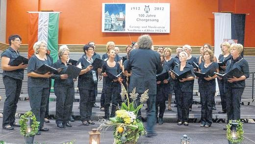 "Chorfestival mit Gospelchor ""Good News""  080912"