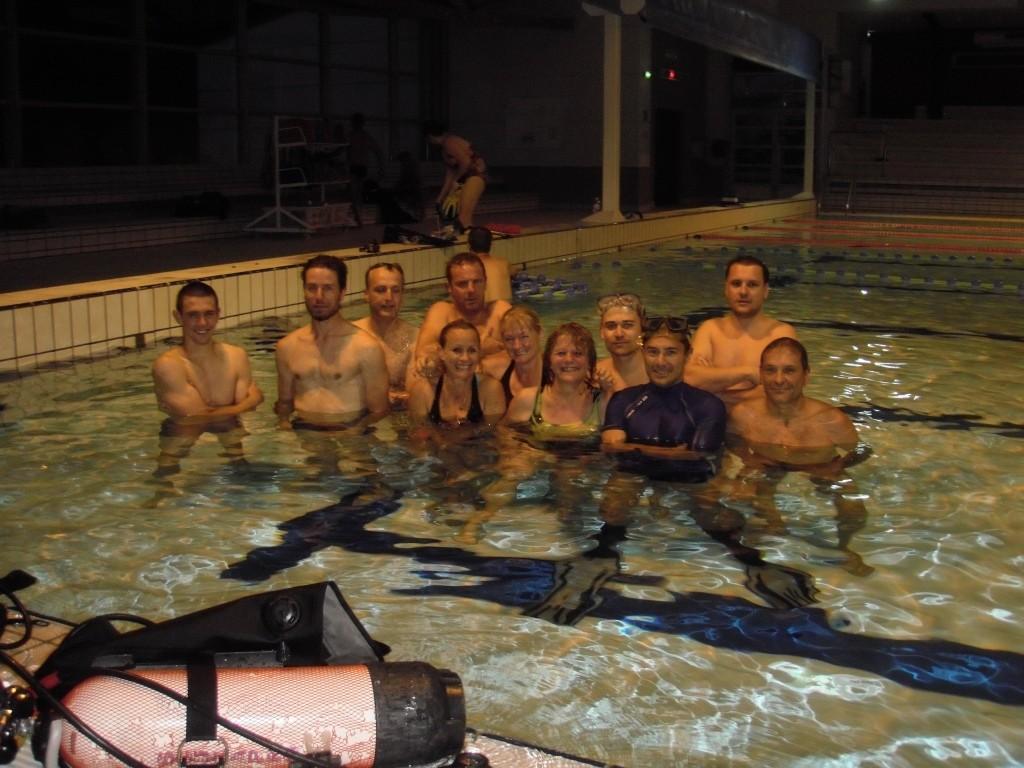SORTIE COHESION BAPTÊME DE PLONGEE CASTRES JUIN 2015