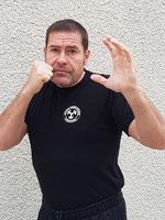 Fred Ceinture noire 1° degré ,instructeur -chef,Kapap level A