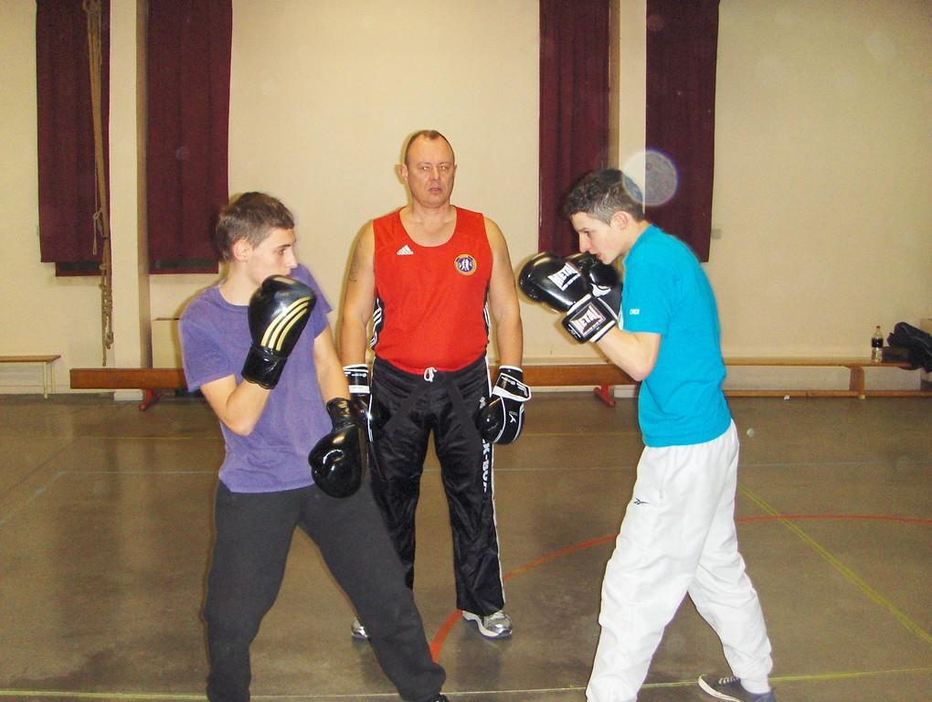 Entrainement kick boxing /k1 2011
