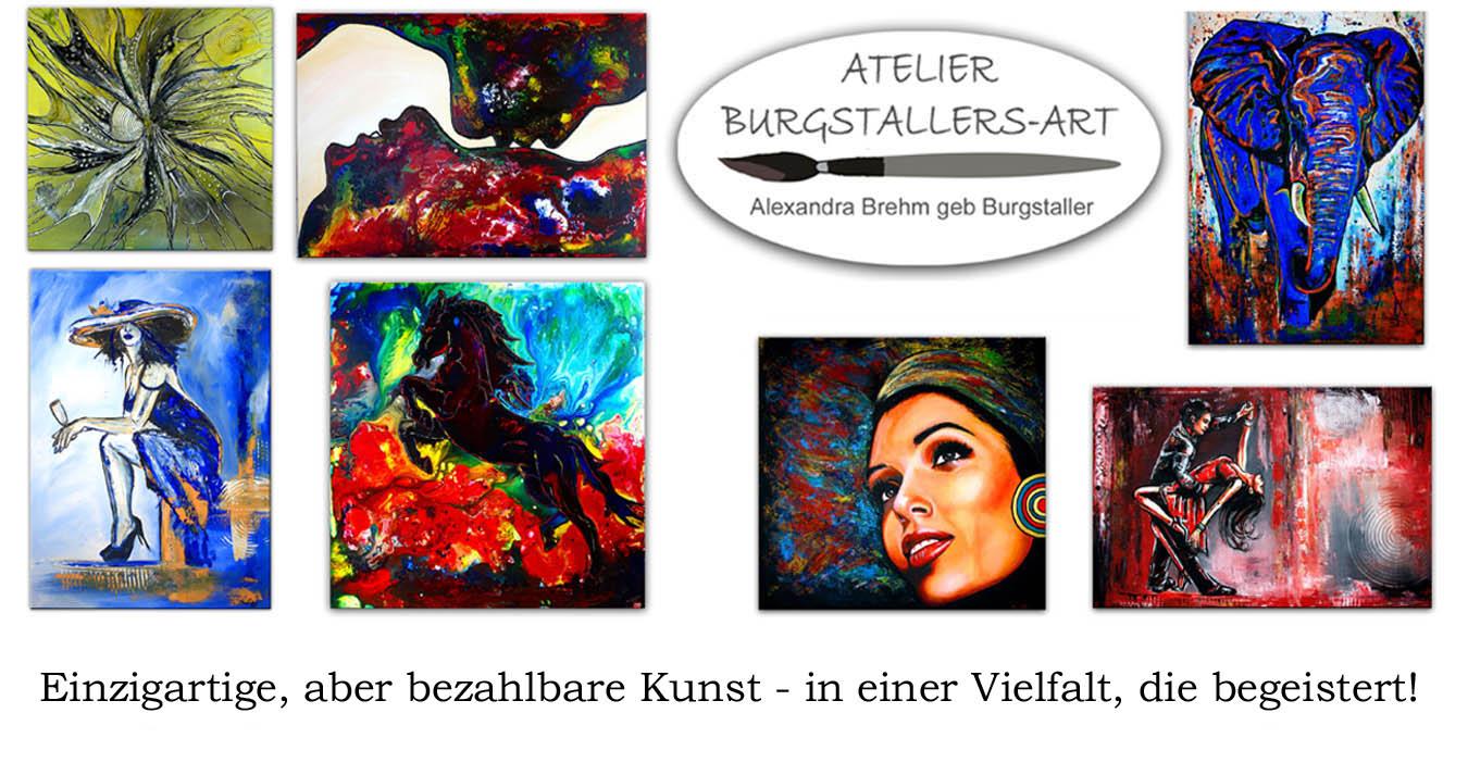 Handgemalte Bilder kaufen - Modern & abstrakt - Burgstaller