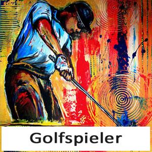 Golfbilder Golfer Bilder Golf Malerei Abschlag Gemälde