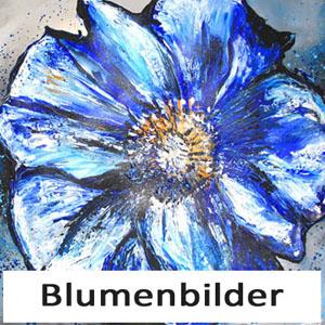 Blumen Malerei handgemalte BLumenbilder kaufen
