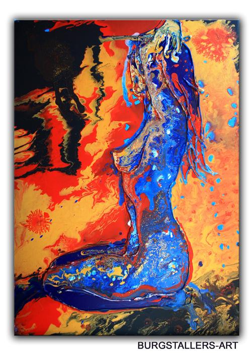 E 7 - Erotikbilder Acryl - Farbe