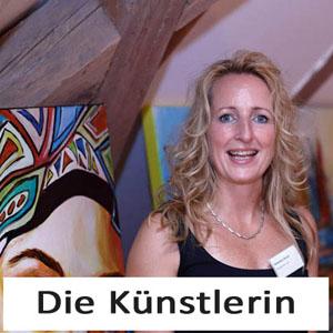 Künstlerin Kunstmalerin Auftragsmalerin Alexandra Brehm Burgstaller