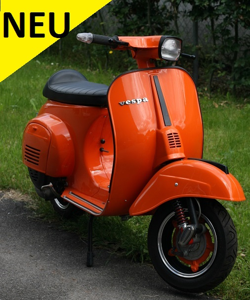vespa 50 special orange der spezialist f r vespa und. Black Bedroom Furniture Sets. Home Design Ideas
