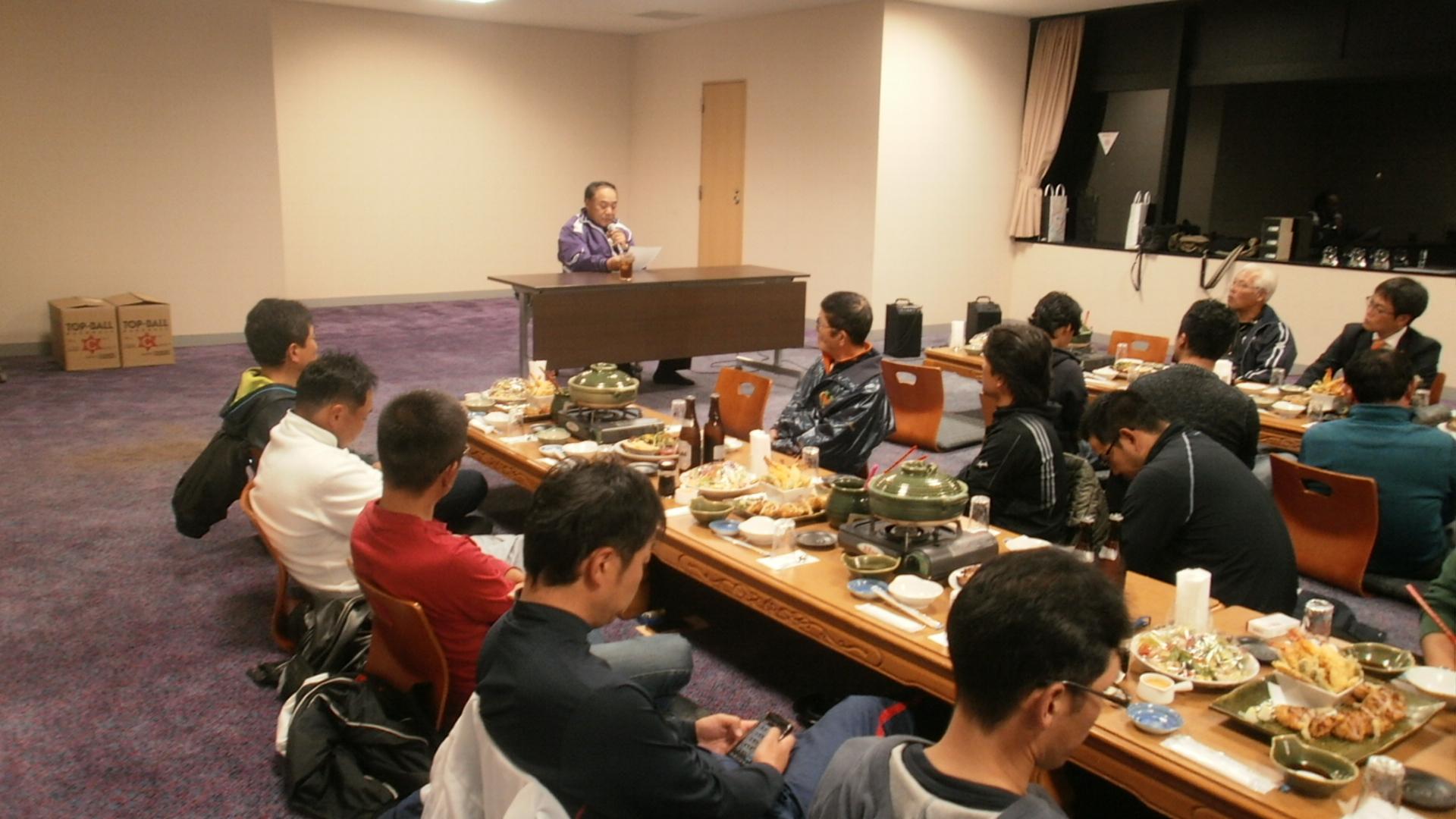 佐倉シニア松井進監督講話「シニアの現状と選手育成」