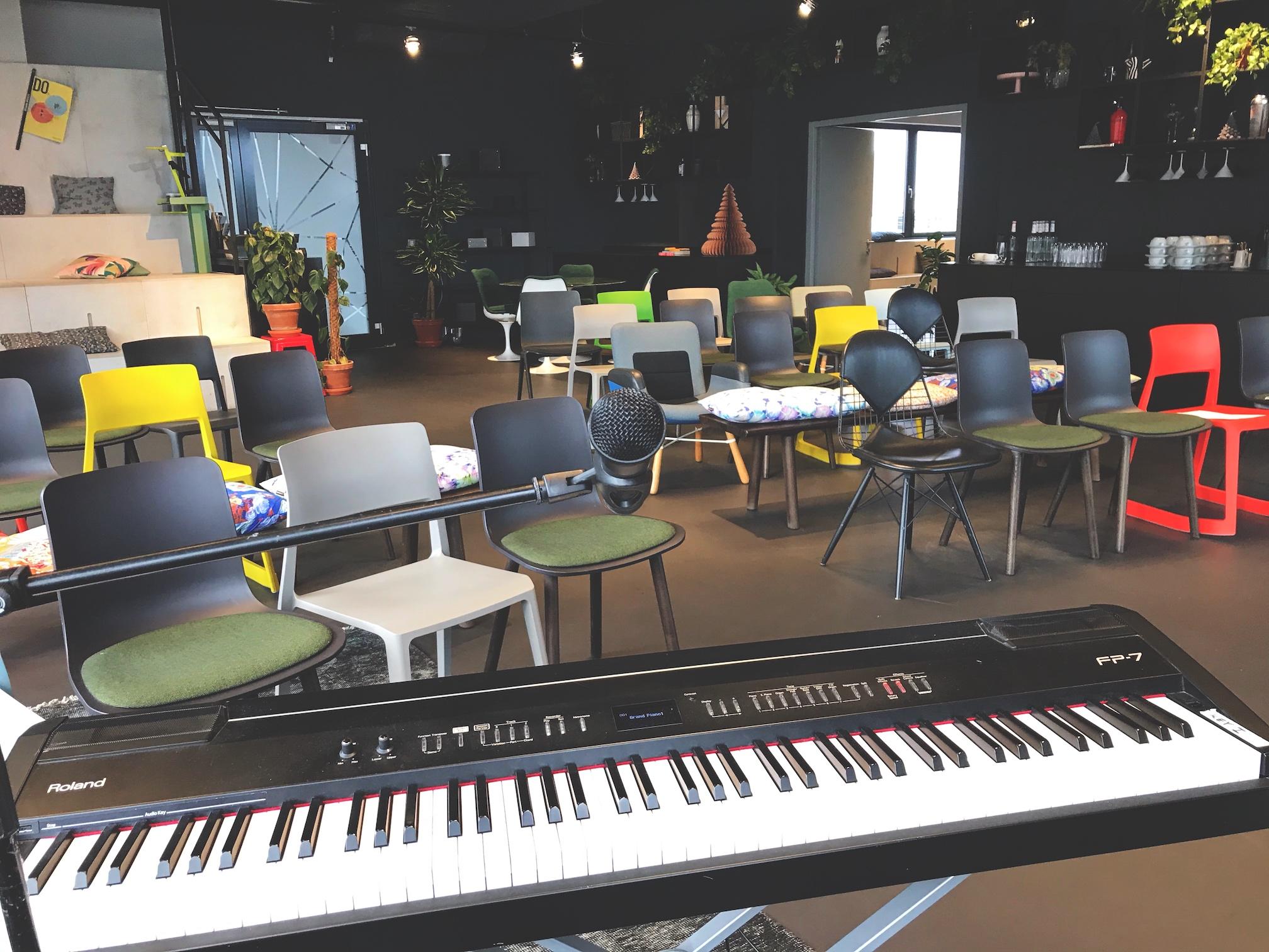 Workshop mit künstlerischem/poetischem Jahresrückblick in einem Unternehmen in Nürnberg